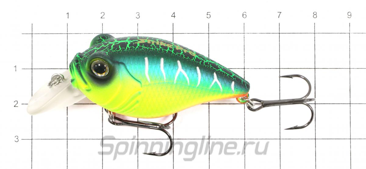 Воблер EG-041SP A05T - фото на размерной линейке (цвет может отличаться) 1