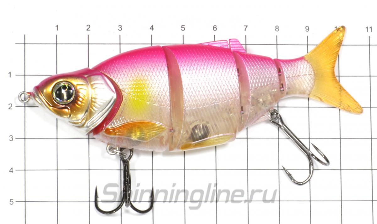Воблер Shad Alive 105 FSK-28 - фото на размерной линейке (цвет может отличаться) 1