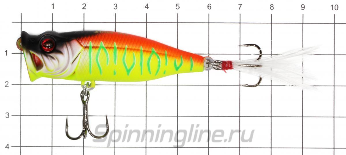 Воблер SH-002BA A119F - фото на размерной линейке (цвет может отличаться) 1