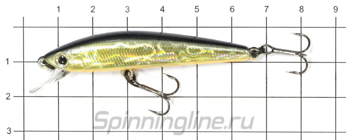 Воблер TD Minnow 1061 SP A-1 suspending - фото на размерной линейке (цвет может отличаться) 1