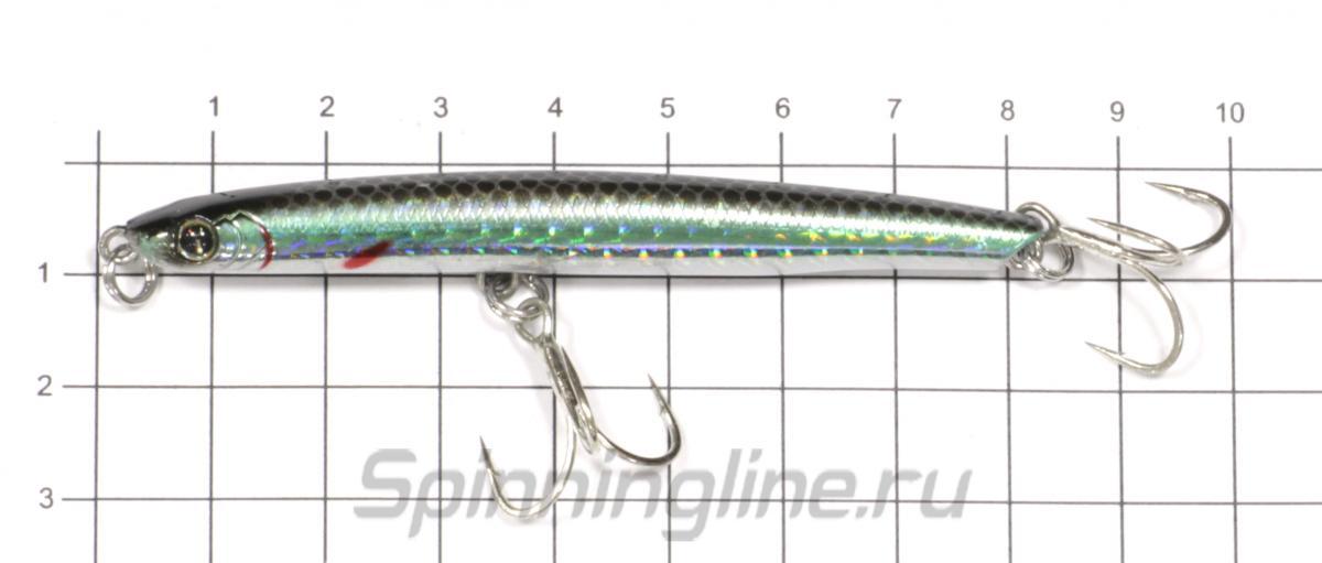 Воблер Izumi Eimann Roll 65 31 - фото на размерной линейке (цвет может отличаться) 1