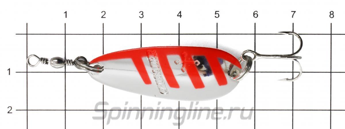 Блесна Daiwa Crusader 7 G - фото на размерной линейке (цвет может отличаться) 1
