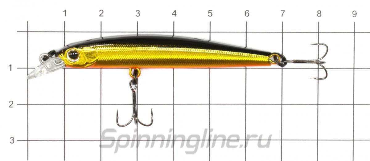 Воблер Zipbaits Rigge Slim 60SS 840 - фото на размерной линейке (цвет может отличаться) 1