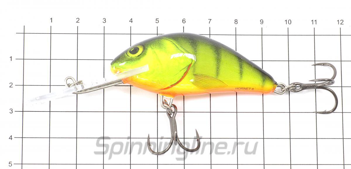 Воблер Hornet F09 D - фото на размерной линейке (цвет может отличаться) 1