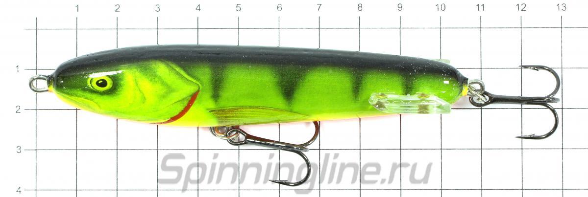 Воблер Sweeper S10 HP - фото на размерной линейке (цвет может отличаться) 1