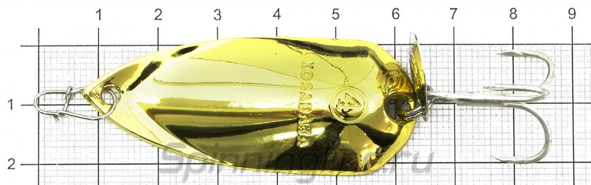Блесна Grav spoon 16гр Silver - фото на размерной линейке (цвет может отличаться) 1