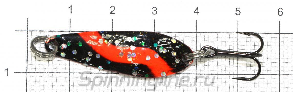 Блесна Echo 3гр YO - фото на размерной линейке (цвет может отличаться) 1