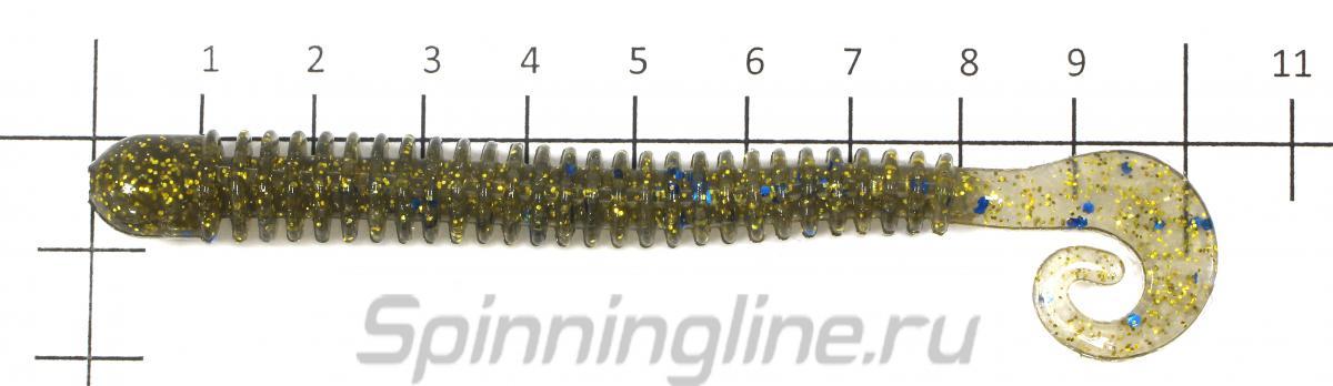 Приманка Ballist 102/S18 - фото на размерной линейке (цвет может отличаться) 1