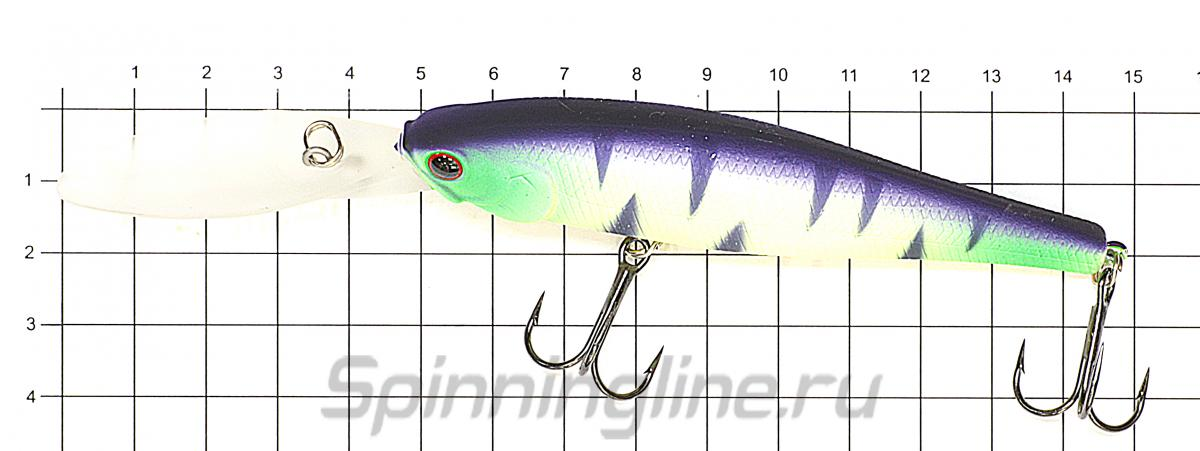 Воблер Lucky Craft Pointer 100XD Original Tennessee Shad 077 - фото на размерной линейке (цвет может отличаться) 1