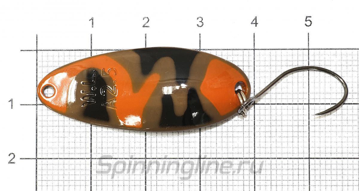 Блесна Almin 2,5гр B11 - фотография на размерной линейке 1