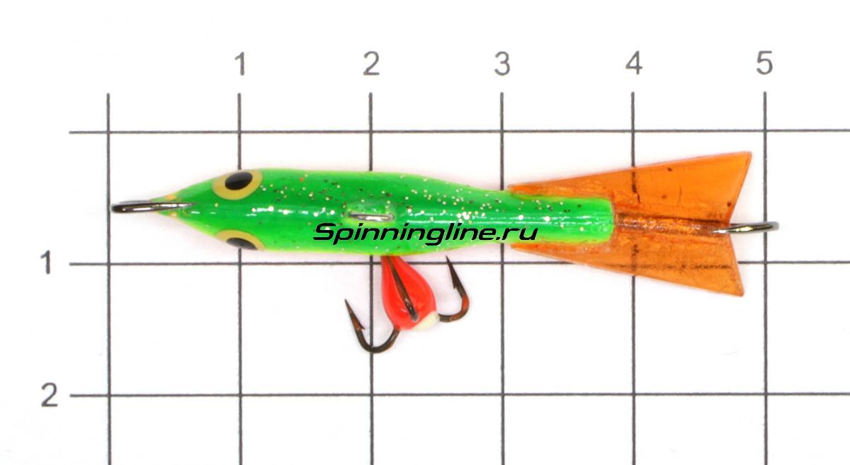 Балансир Fisherman Ладога 308 C светящийся - фото на размерной линейке (цвет может отличаться) 1
