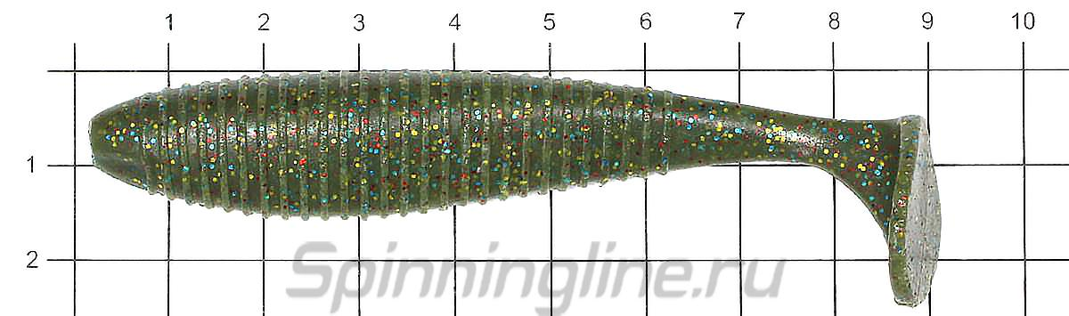 Приманка Joco Shaker 89 F01 - фото на размерной линейке (цвет может отличаться) 1