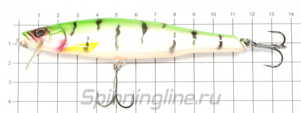 Воблер Minnow 110 Snake - фото на размерной линейке (цвет может отличаться) 1