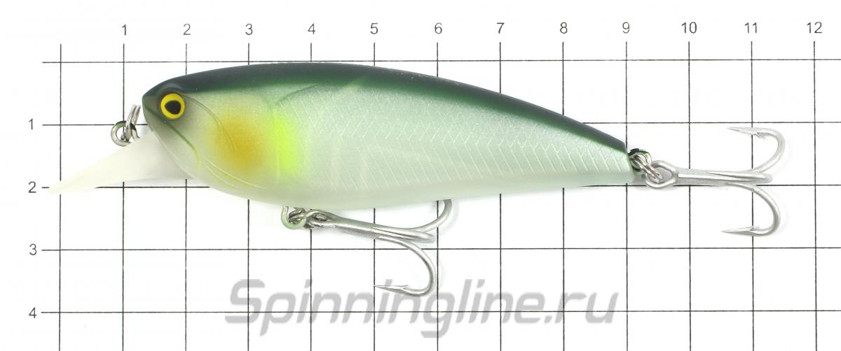 Воблер Chunk Minnow 78F 63 - фото на размерной линейке (цвет может отличаться) 1
