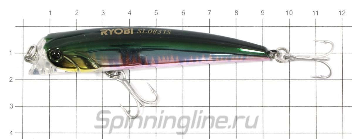 Воблер Dash Minnow 83S 15 - фото на размерной линейке (цвет может отличаться) 1