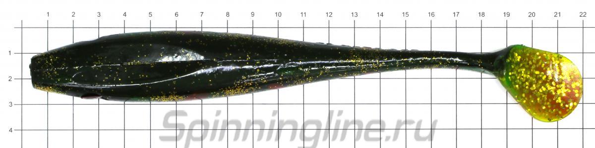 Приманка Pig Shad Jr. SP-172C C450 - фото на размерной линейке (цвет может отличаться) 1