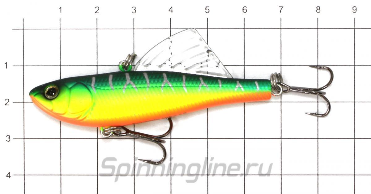 Воблер EG-204A-UV 613-713 - фото на размерной линейке (цвет может отличаться) 1