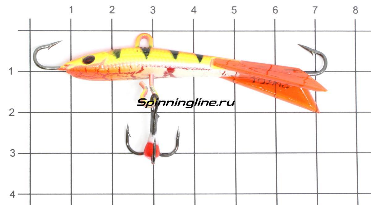 Балансир Sprut Kamo 60 FT - фото на размерной линейке (цвет может отличаться) 1