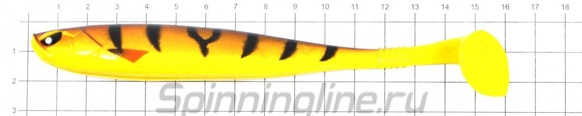 Приманка Basara Soft Swim 152/PG01 - фото на размерной линейке (цвет может отличаться) 1