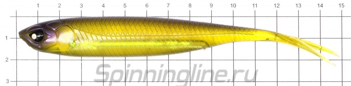 Приманка Lucky John Makora Split Tail 152/001 - фото на размерной линейке (цвет может отличаться) 1