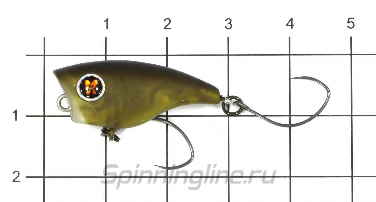 Воблер Presso Poppin Bug Crown - фото на размерной линейке (цвет может отличаться) 1