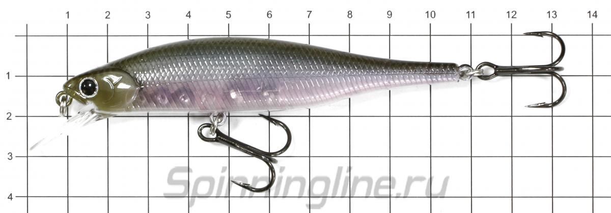 Воблер Lightning Pointer 98XR Table Rock Shad 261 - фото на размерной линейке (цвет может отличаться) 1