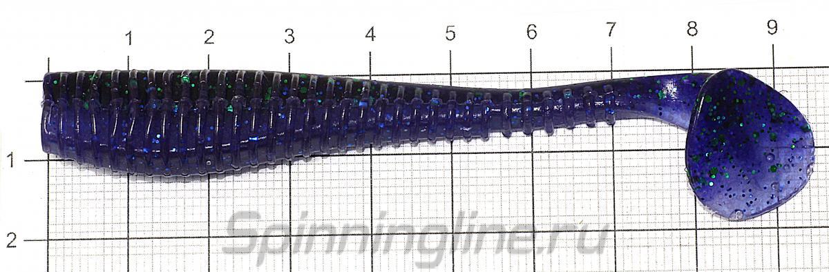 Приманка Diplomat 100 OR21 - фото на размерной линейке (цвет может отличаться) 1