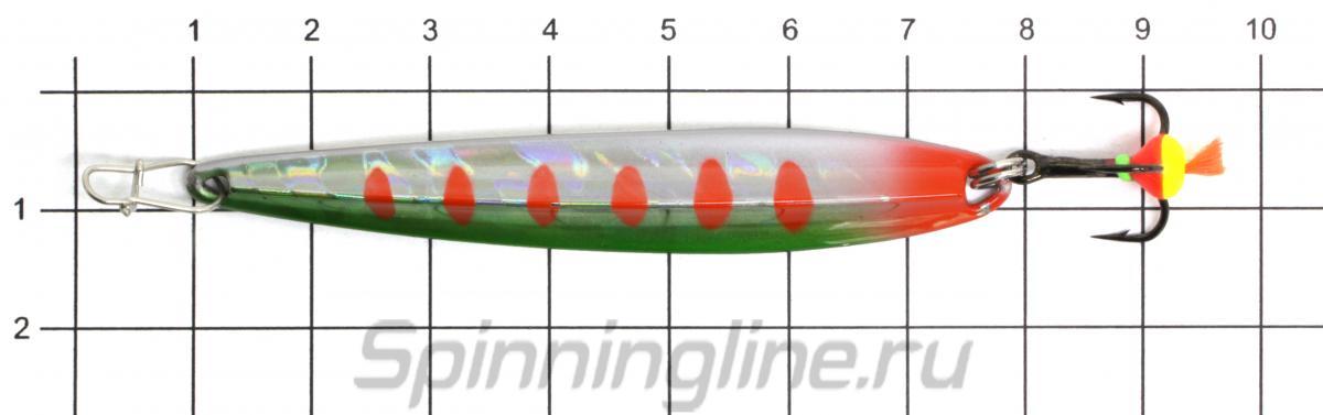 Блесна Eco Pro Shprot 70 G - фото на размерной линейке (цвет может отличаться) 1
