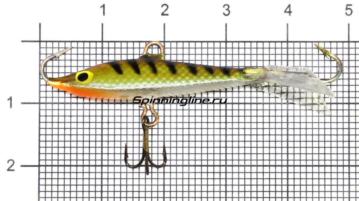Балансир Kuusamo Tasapaino 50 BL/S/FO-R - фото на размерной линейке (цвет может отличаться) 1