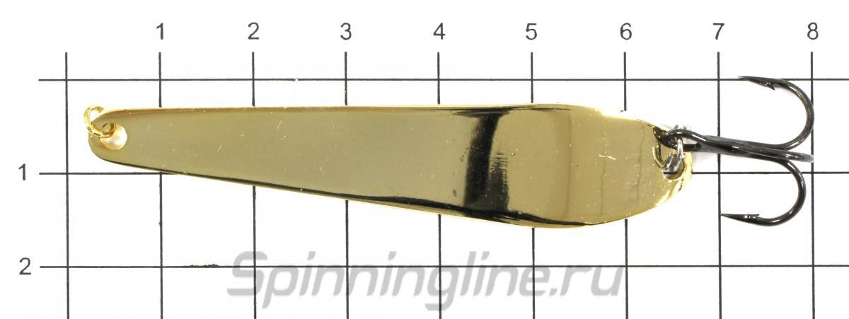 Блесна Shark Спортивная 302 14,15гр S - фото на размерной линейке (цвет может отличаться) 1