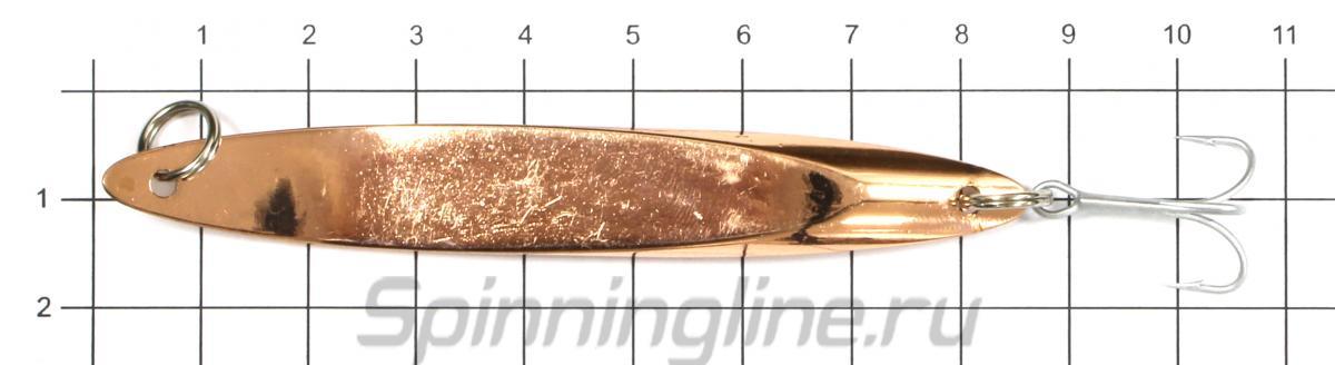Блесна Freeway Meteor 4 16гр 003 - фото на размерной линейке (цвет может отличаться) 1