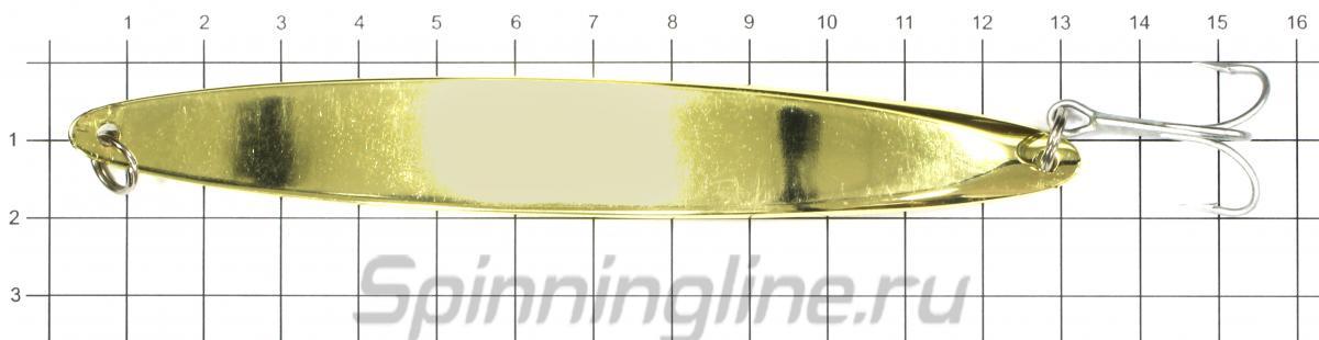Блеснa Freeway Willow 5 37гр 002 - фото на размерной линейке (цвет может отличаться) 1