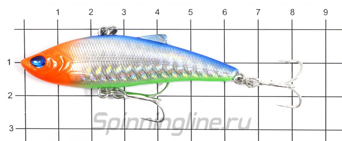 Воблер Usami Gansta Ice 63S 660 - фото на размерной линейке (цвет может отличаться) 1