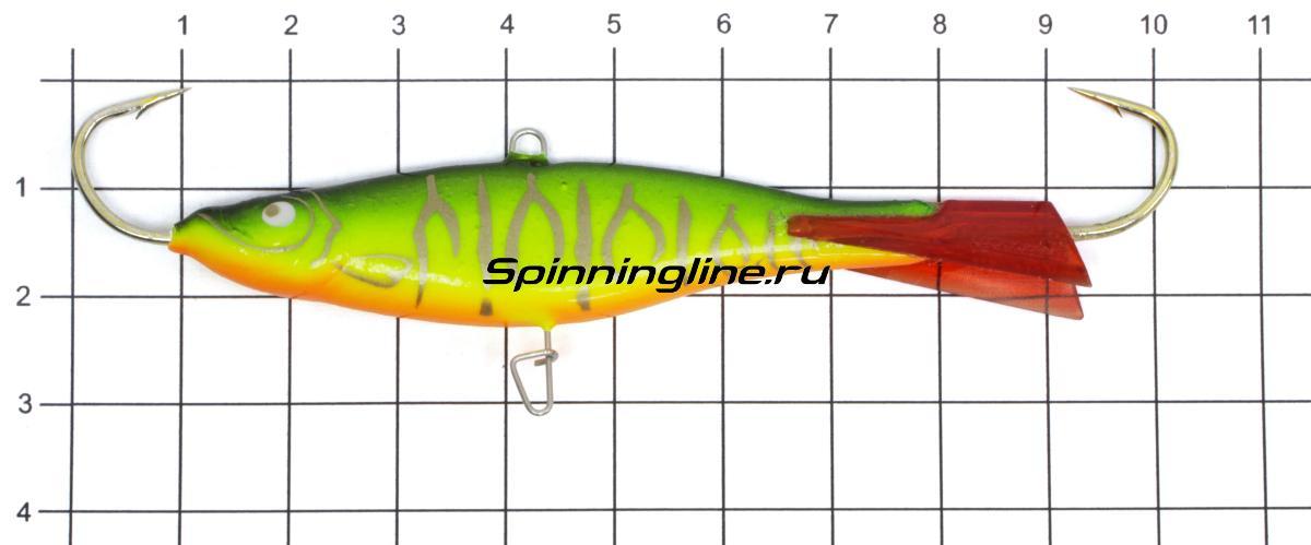 Балансир Lucky John Viking 8 02H - фото на размерной линейке (цвет может отличаться) 1