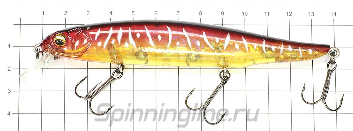 Воблер Riprizer Gekiasa 130 36 - фото на размерной линейке (цвет может отличаться) 1