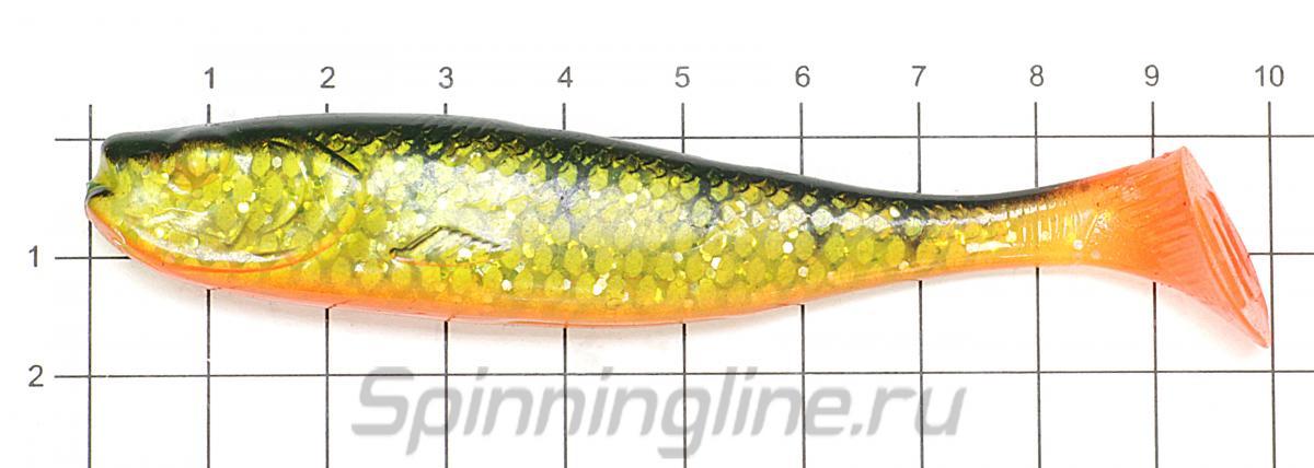 Приманка Narval Shprota 100 023-Carrot - фото на размерной линейке (цвет может отличаться) 1