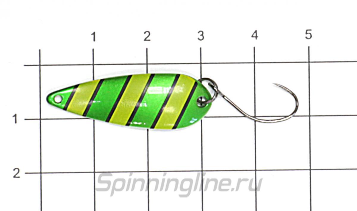 Блесна Norstream Ray 2,6гр 34 - фото на размерной линейке (цвет может отличаться) 1