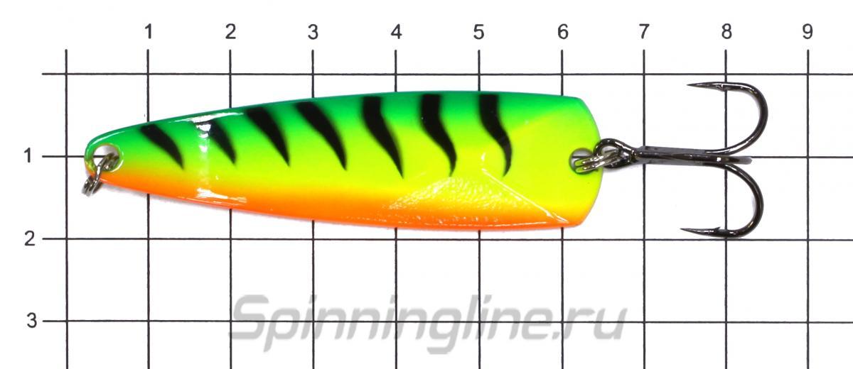 Блесна LureMax Hoyt 63мм 18гр 42 - фото на размерной линейке (цвет может отличаться) 1