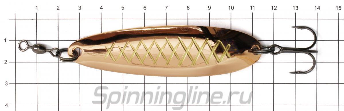 Блесна Akara Kola 90 21гр AB45 - фото на размерной линейке (цвет может отличаться) 1