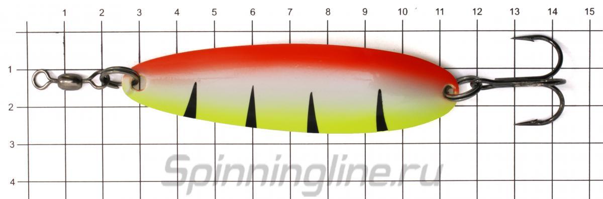 Блесна Akara Kola 90 28гр AB45 - фото на размерной линейке (цвет может отличаться) 1