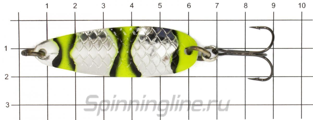 Блесна Akara Laxa 60 13гр AB90 - фото на размерной линейке (цвет может отличаться) 1