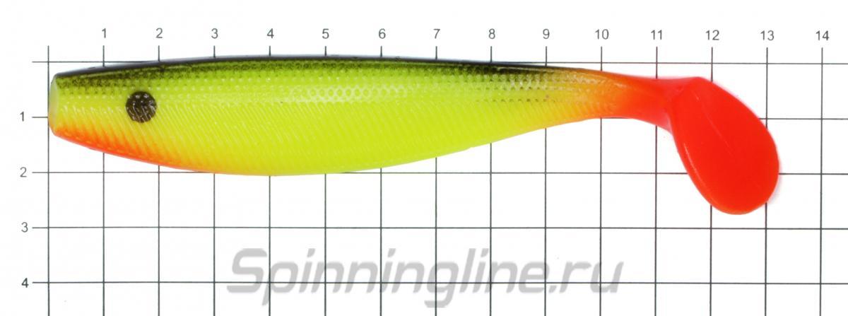 Приманка Akara Seducer 130 R18 - фото на размерной линейке (цвет может отличаться) 1