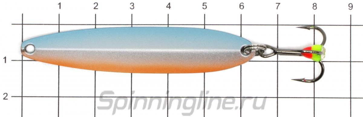 Блесна Sprut Tukan 65 GC - фото на размерной линейке (цвет может отличаться) 1