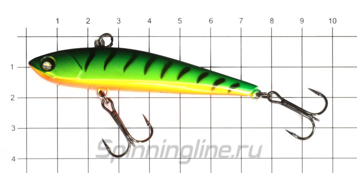Воблер Akara Streamer 75 A122 - фото на размерной линейке (цвет может отличаться) 1