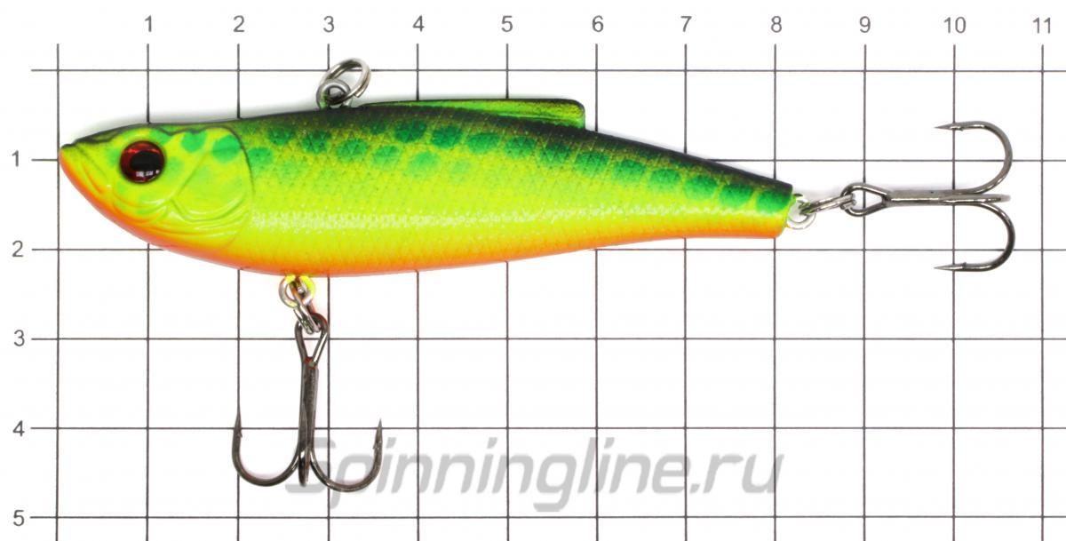 Воблер Namazu Loure 80 16гр 9 - фото на размерной линейке (цвет может отличаться) 1