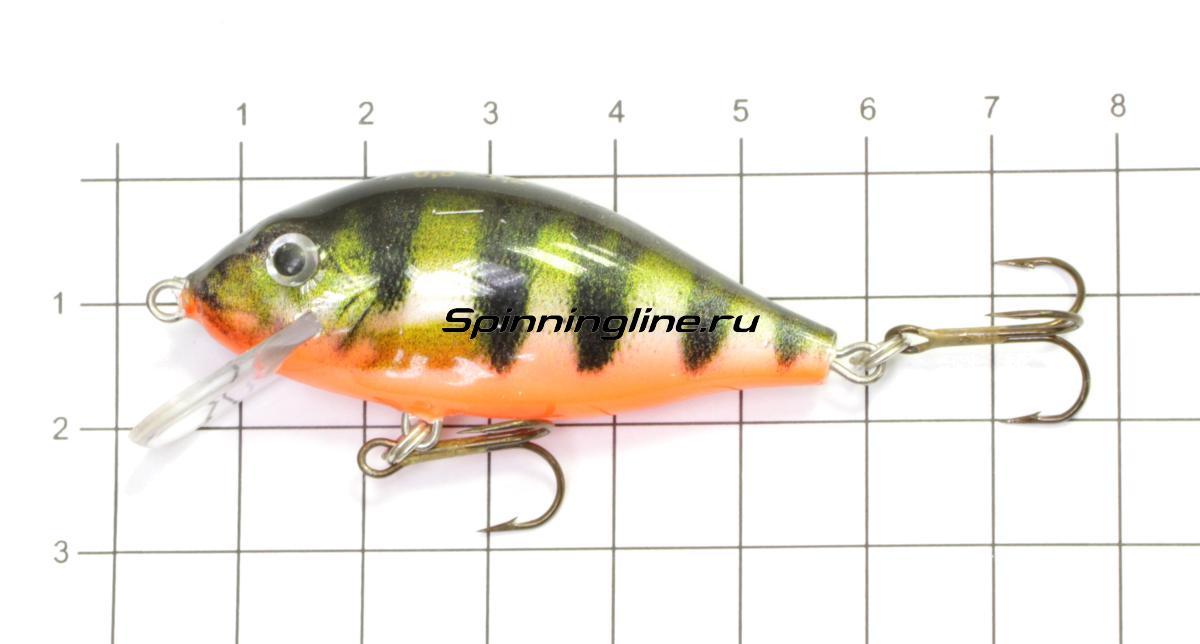 Воблер Chimera Silver Fox Karas Floater 50 008 - фото на размерной линейке (цвет может отличаться) 1
