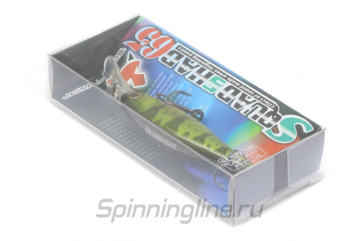 Воблер Squad Shad 65 brown craw - фотография упаковки (дизайн упаковки может быть изменен производителем) 1