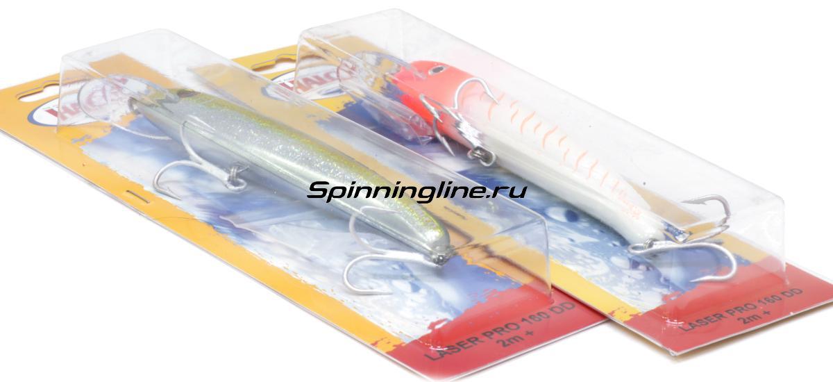 Воблер Halco Laser Pro 190 XDD-H58 - Данное фото демонстрирует вид упаковки, а не товара. Товар на фото может отличаться по цвету, комплектации и т.д. Дизайн упаковки может быть изменен производителем 1
