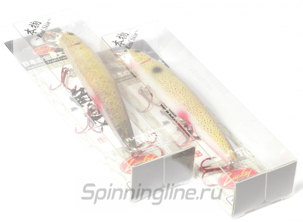 Lucky Craft - Воблер Flash Minnow 110SP Tiger Perch 806 - фотография упаковки
