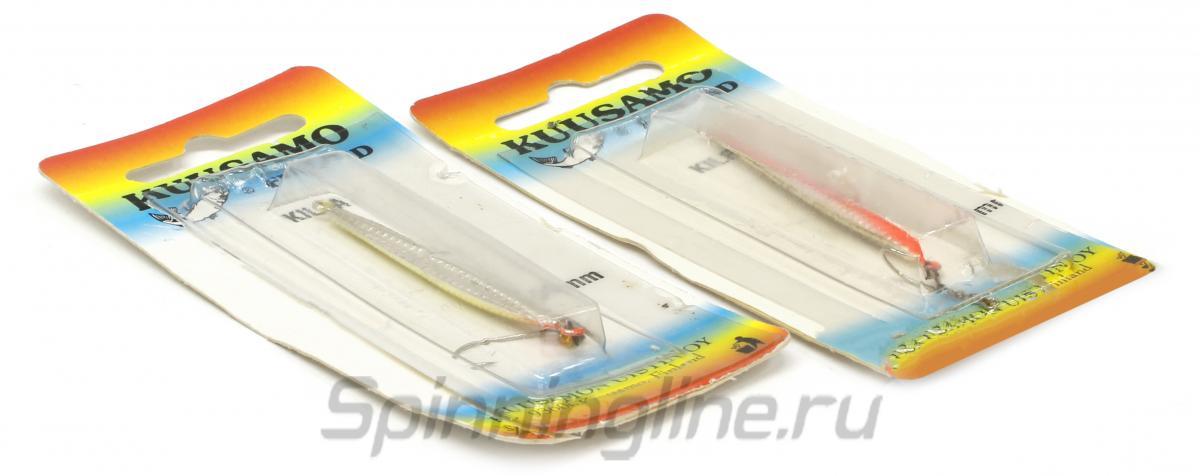 Блесна Kuusamo Kilpa 55 GR/FYe/FR-S - Данное фото демонстрирует вид упаковки, а не товара. Товар на фото может отличаться по цвету, комплектации и т.д. Дизайн упаковки может быть изменен производителем 1